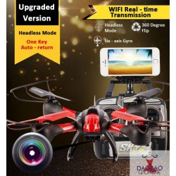 RC Helicoptero WIFI FPV Real Time Transmission 4CH 2.4G RC Drones Quadcopter Drone With Camera Helicopter + FREE VR