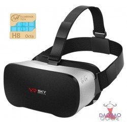 All-in-one Virtual Reality 3D Glasses VR Box CQ-V3 Octa Core 5.5 Inch1080P FHD Display (No phone Needed)