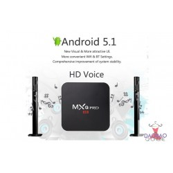 MXQ Pro 4K Ultimate HD Android 5.1Amlogic S905 1GB/8GB