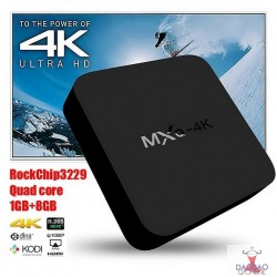 MXQ-4K RK3229 4k 1GB 8GB Smart Tv Box