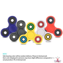 Tri-Spinner Fidget Toy EDC Focus Stress Reducer For ADHD Relieve Stress Anxiety Boredom Killing Time